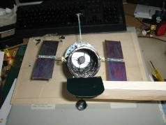 hubble mirror assembly mounted
