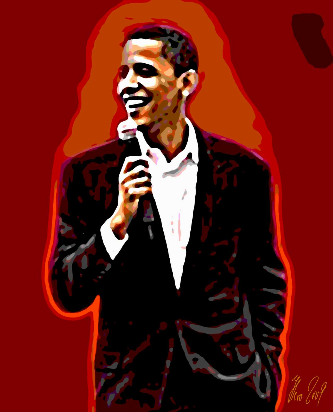 Barack Obama- Poster Digital Art